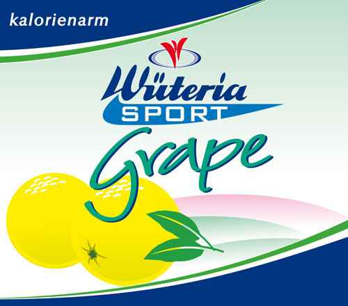 Wüteria Mineralwasser Grape Sport