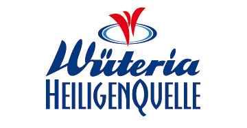 Wüteria Mineralwasser Heiligenquelle Logo