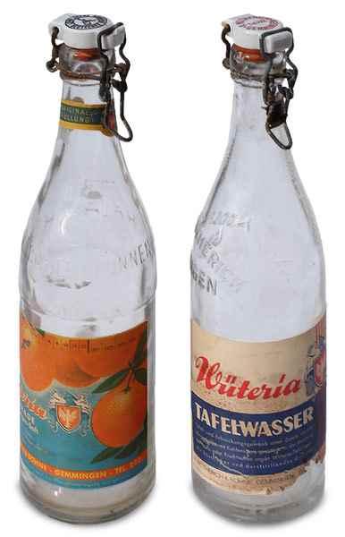 Gemminger Mineralwasser Mineralwasserflaschen Historisch