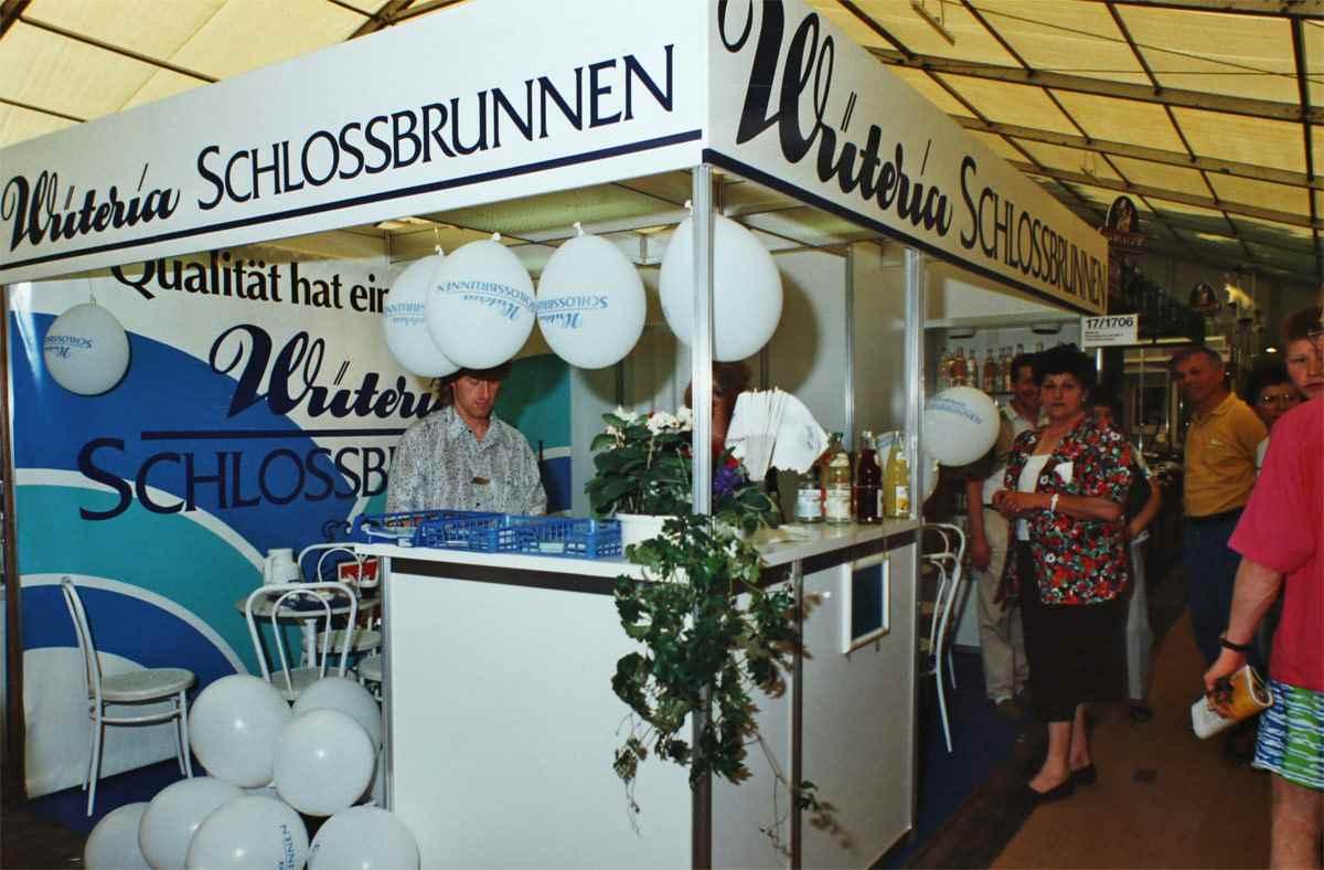 Wüteria Mineralwasser Stand
