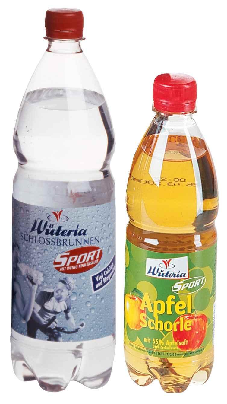 Wüteria Mineralwasser Sport