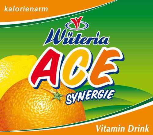 Wüteria Mineralwasser Vitamindrink ACE