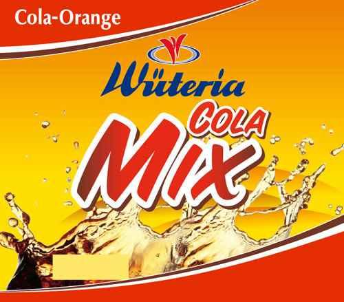 Wüteria Mineralwasser Cola Mix