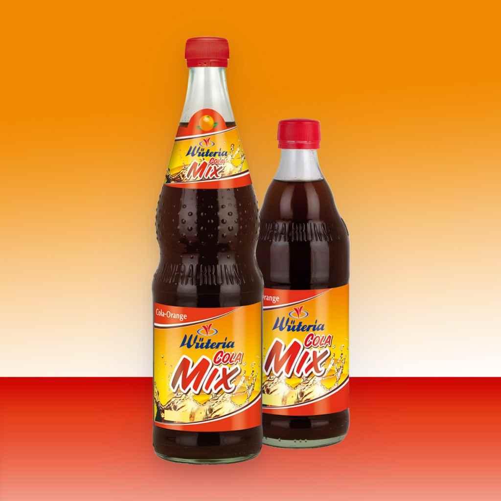Wüteria Mineralwasser Limonade Cola Mix