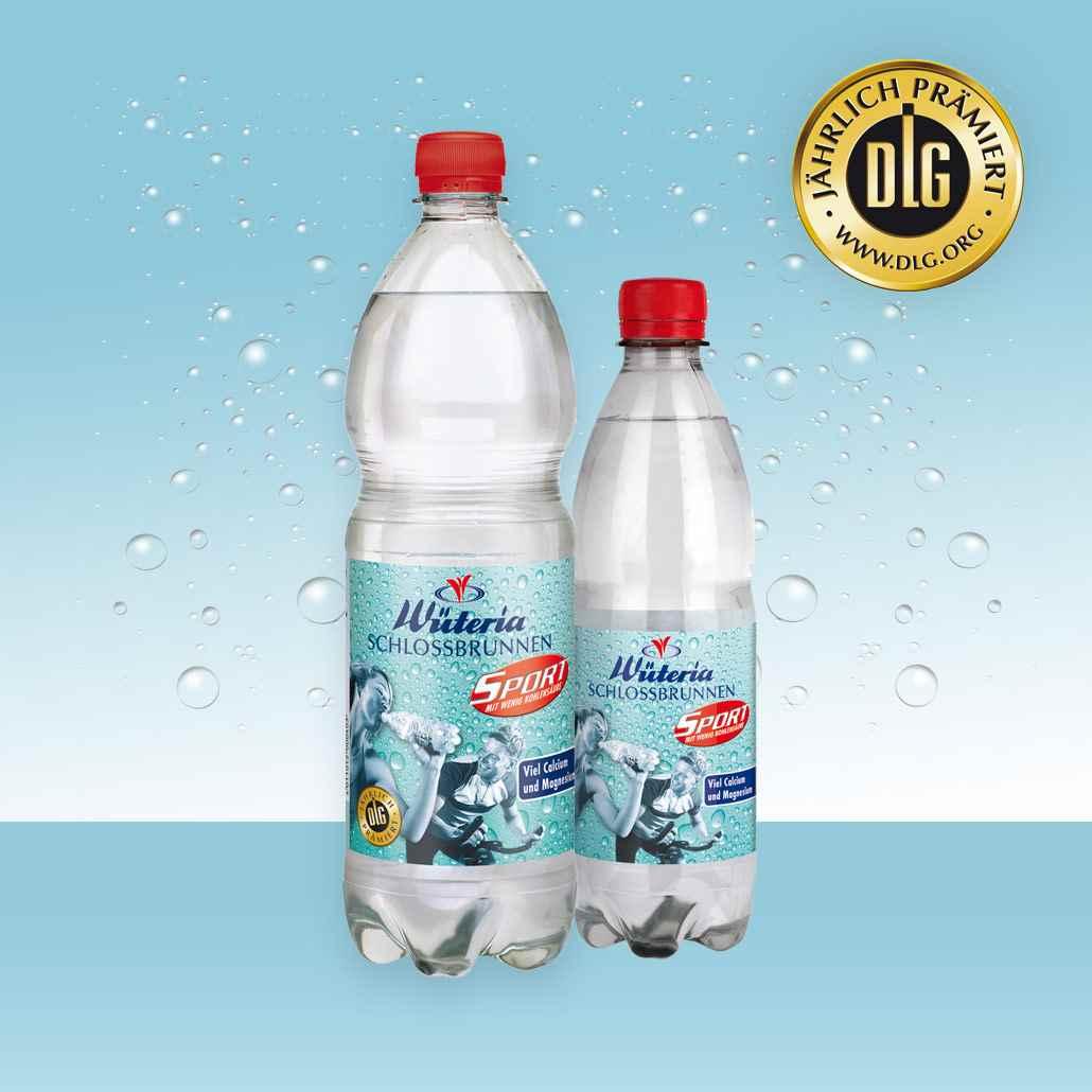 Mineralwasser Sport