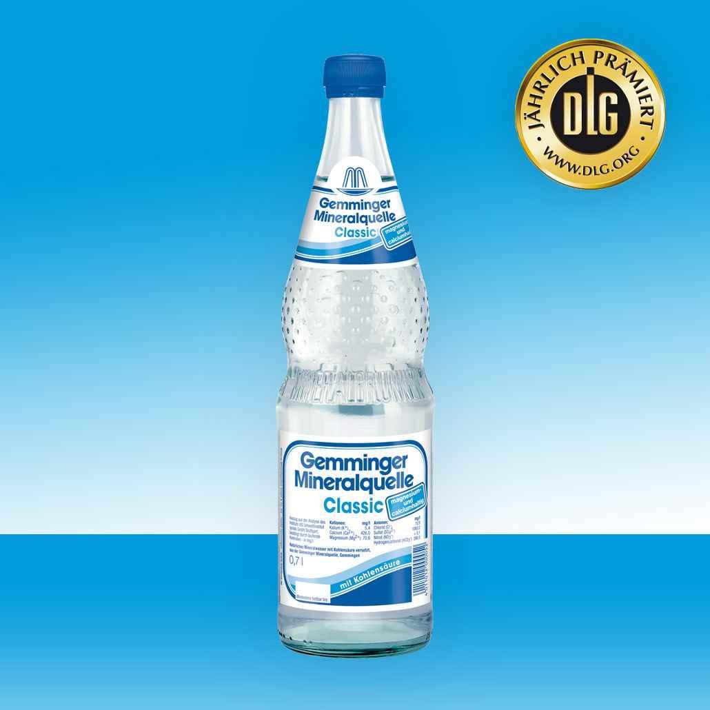 Gemminger Mineralwasser - Mineralquelle Classic