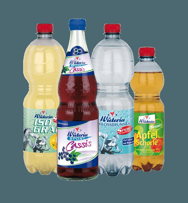 Wüteria Mineralwasser Fitnessgetränke | Wüteria