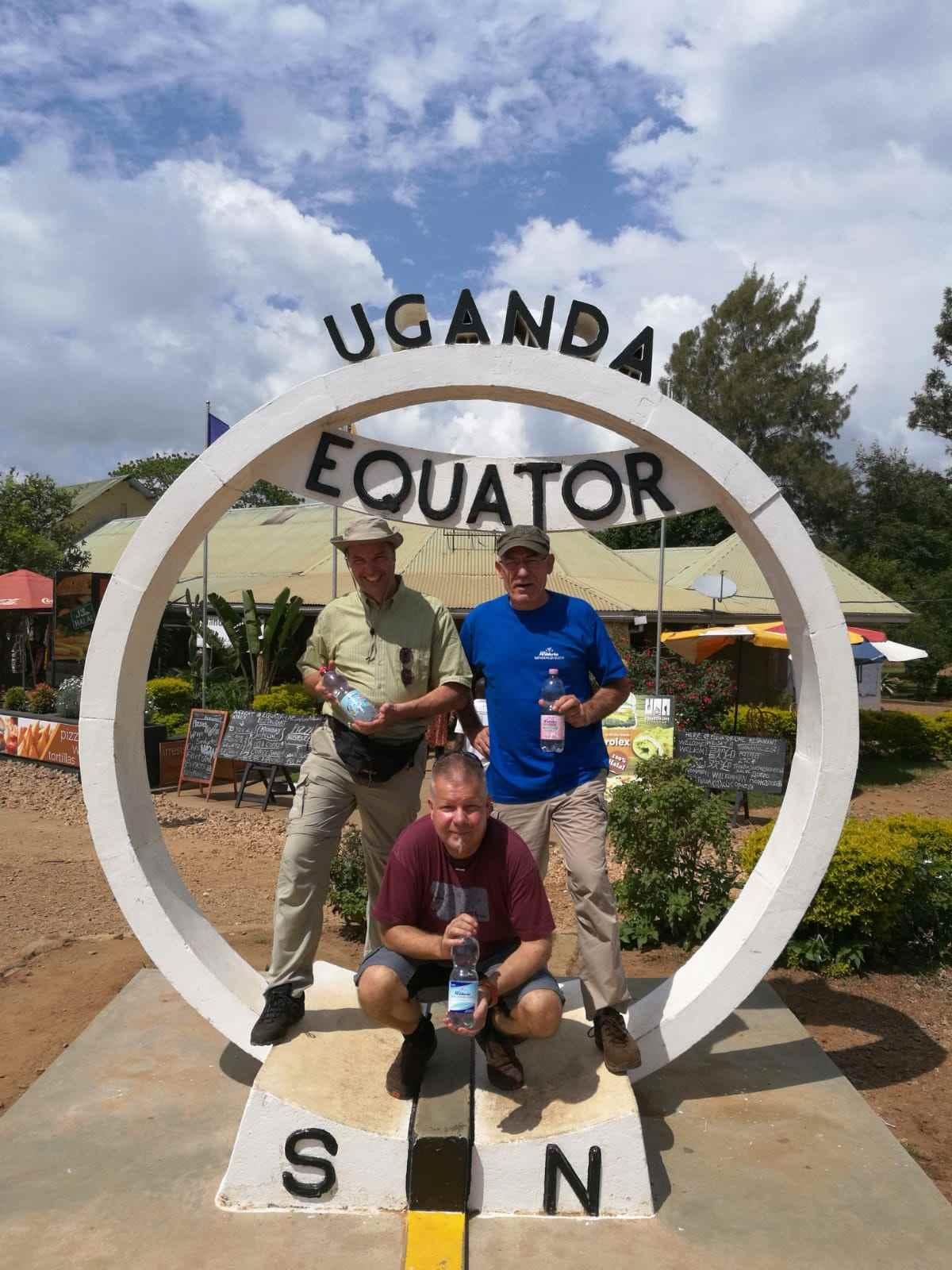 Wüteria am Äquator